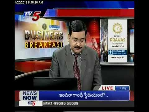 20th April 2018 TV5 News Business Breakfast