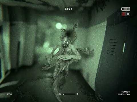 """Outlast 2 Monster Chase """"Loutermilch"""""""