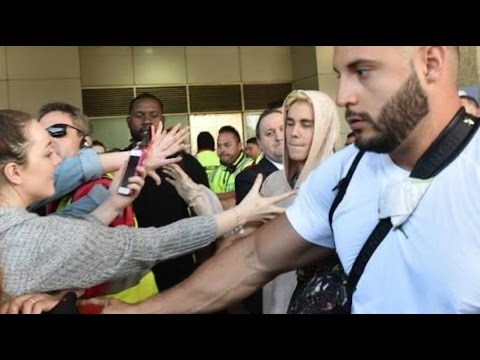 Justin bieber finally arrives in South Africa, Concert Johannesburg!