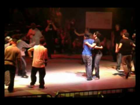 BBOYWORLD TEAM vs TEAM LEUST (CHELLES BATTLE PRO 2004) part1 WWW.BBOYWORLD.COM