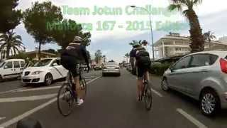 Team Jotun   Mallorca 167   To finish line!