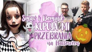 DOMINIK RUPIŃSKI I SMAV KUPUJĄ MI UBRANIA NA HALLOWEEN | Sylwia Lipka