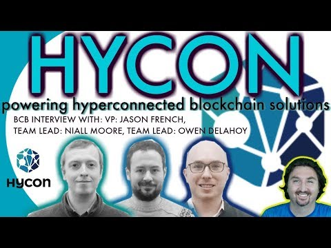 Hycon execs talk with BCB about powering hyperconnected blockchain solutions for the real world