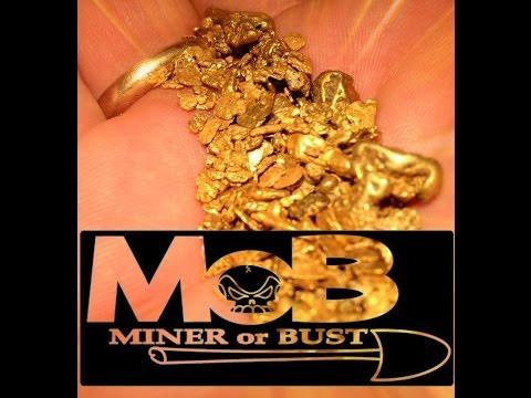S/4 PRT/12 The Gold Prospector MINER or BUST