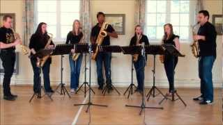 The Ash Grove – saxophone ensemble (septet)