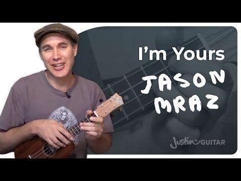 UKE: I'm Yours - Jason Mraz - Ukulele Lesson (US-104)