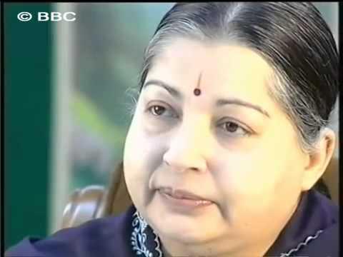 Jayalalithaa royally slapping Karan Thapar during the Interview