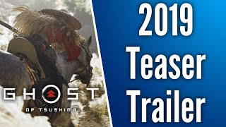 Ghost Of Tsushima New Teaser Trailer // Full Reveal Happening At The Game Awards