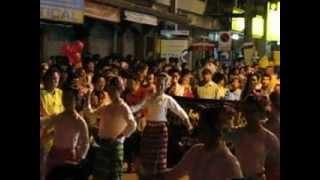 Shan Dance ฟ้อนไต พิธีเปิดงานแห่จองพารา