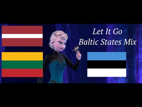 Frozen - Let It Go | Baltic States Multilanguage Mix