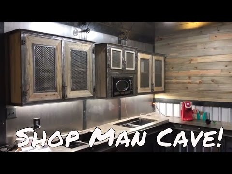 Man Cave - Shop Living Area - Oldbarn Homesteading - Mancave Room