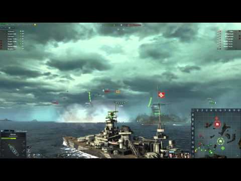 Steel Ocean Sharnhorst gameplay