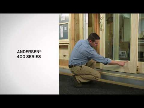 Andersen® Gliding Door Series Identification