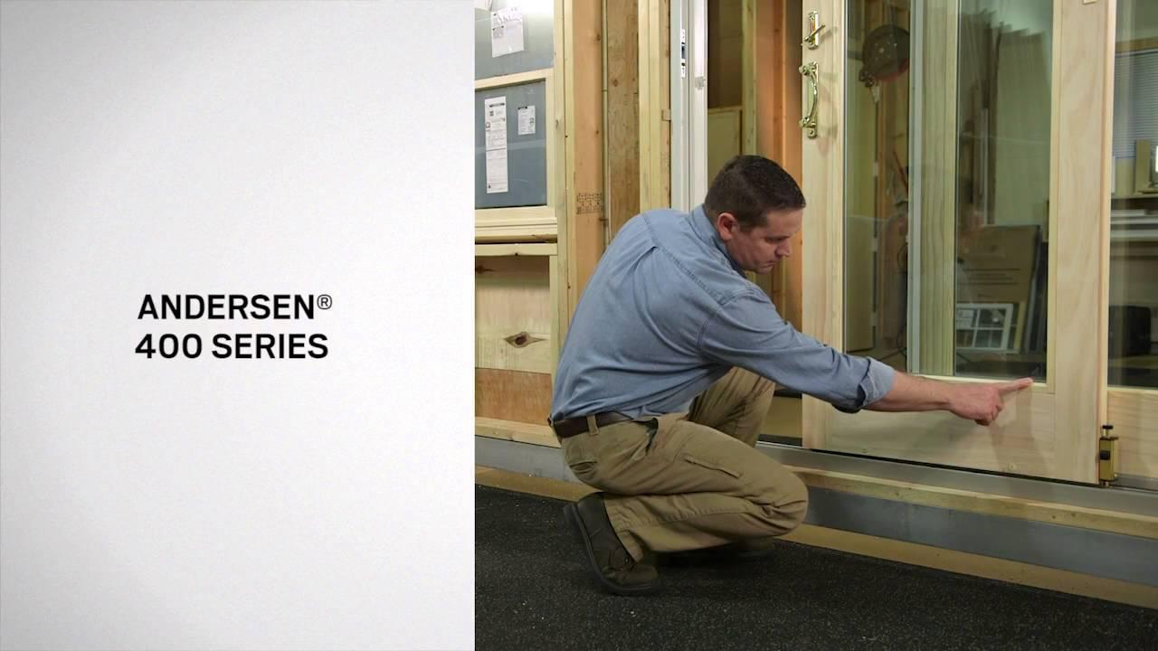 identifying gliding door series andersen windows