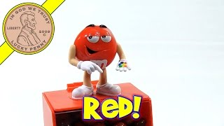 M&m's Red Guy Candies Dispenser & Singing Plush, 2014 Valentine's Day Series