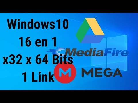 Windows 10 16 En 1 X32 X64 Bits Actualizado A Noviembre 2019 1 Link Google Drive MediaFire Mega