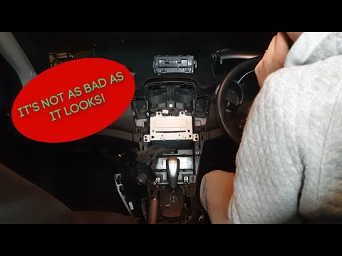 How To Install A Head Unit In A Holden/Chevrolet Cruze
