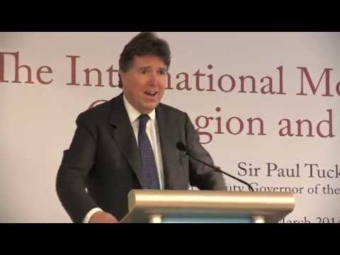 Paul Tucker on the International Monetary System: Contagion and Spillovers