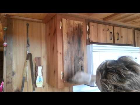 How To Wax Cedar Wood Cabinets By Julie Wieman