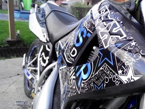 Yamaha DT 125X -Rockstar (TMX GRAPHICS)