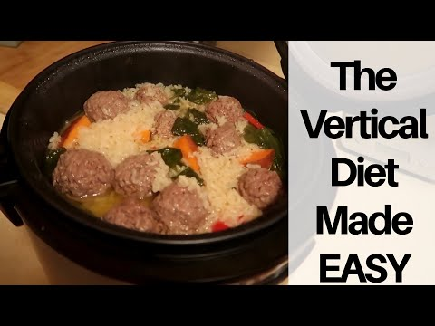 The Vertical Diet Made Easy