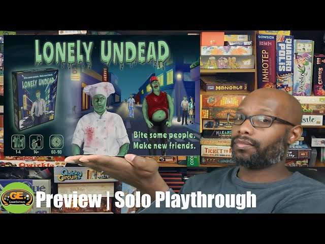 Lonely Undead Preview | Solo Playthrough