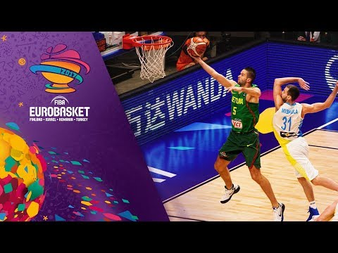 Ukraine v Lithuania - Full Game - FIBA EuroBasket 2017