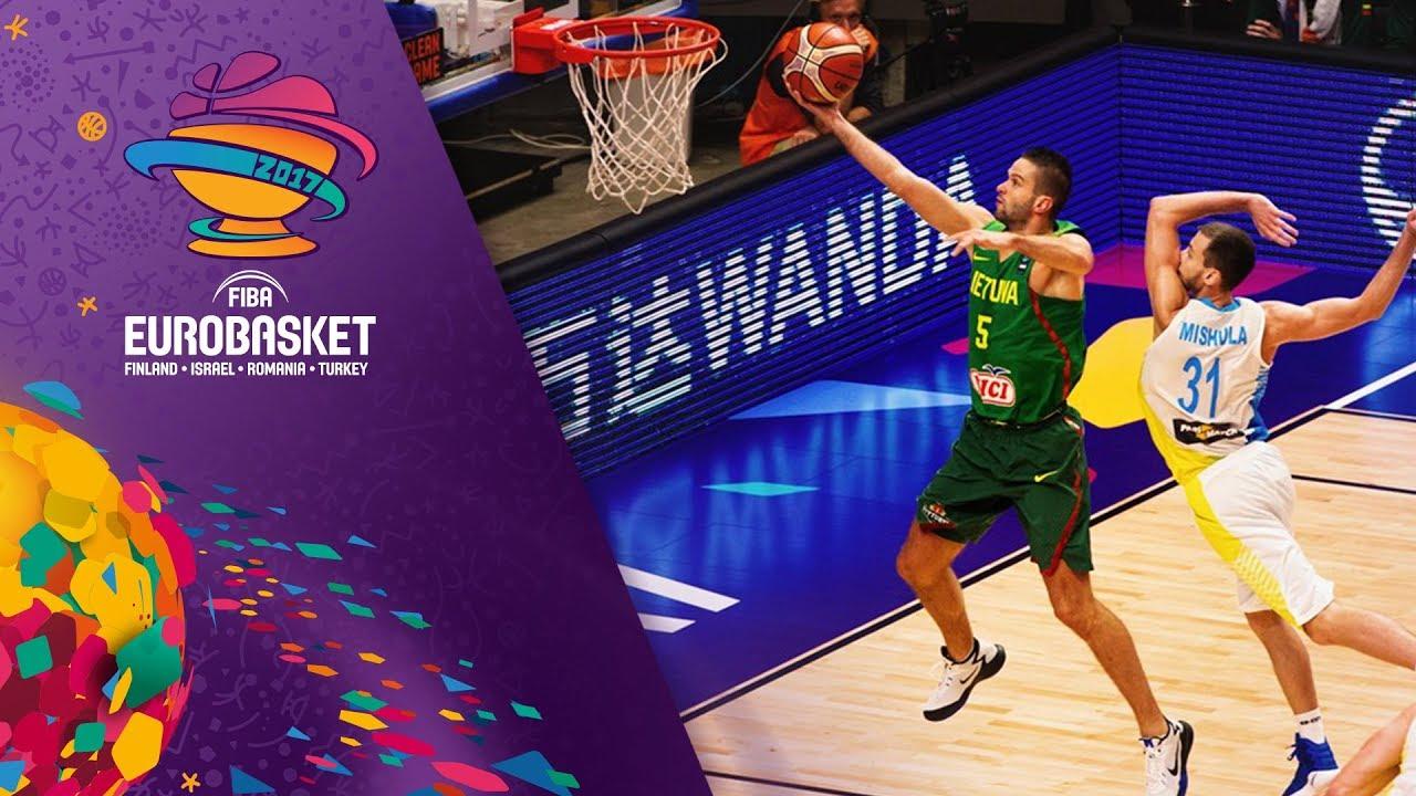 Ukraine v Lithuania - Full Game - FIBA EuroBasket 2017