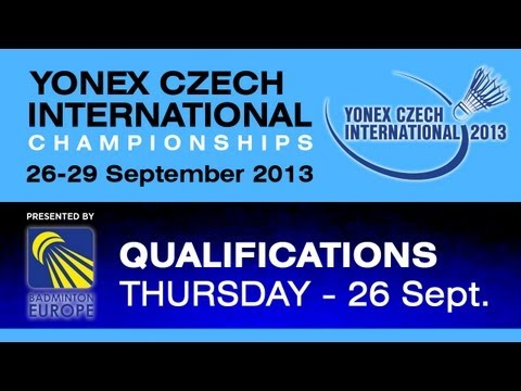 QR - MS - Yu Chun Hsien vs Mateusz Dubowski - 2013 Yonex Czech International