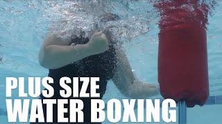 Plus Size Water Boxing with Acquapole - aqua workout