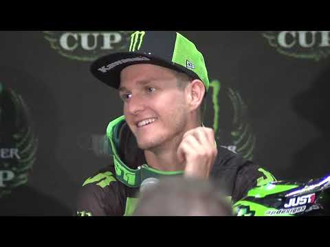 Monster Energy Cup - Cup Class - Post Race Press Conference