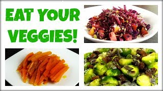 3 Vegetable Recipes to Lose Weight