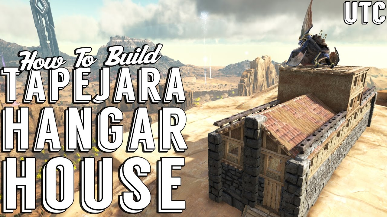 Tapejara hangar house ark build guide adobe and for How to build adobe homes