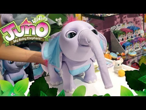 New Wildluvs Juno My Baby Elephant Electronic Pet For Kids Age 3 Or Older
