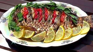 Как приготовить очень вкусную рыбу на мангале