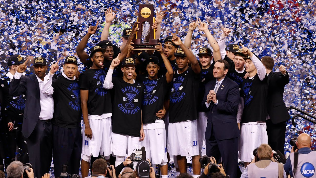 National Championship Duke Takes The Crown Youtube
