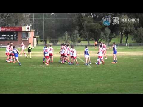U12 North South Melbourne White vs East Malvern Red