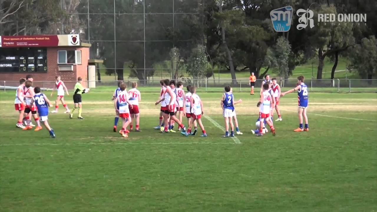 U12 North South Melbourne White vs East Malvern Red