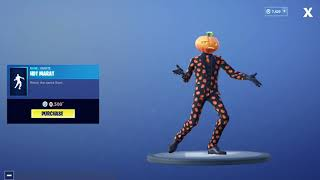 Nuevo emote caliente mart gratis en fortnite battle royale