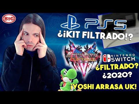 ¡FILTRADO supuesto DEV KIT de PS5 y MONSTER HUNTER V SWITCH! ¿Real? | ¡YOSHI ARRASA UK! thumbnail