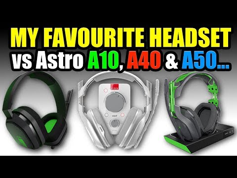HEADSET MIC SHOOT-OUT… Astro A10, A40 & A50 Vs MY FAVOURITE