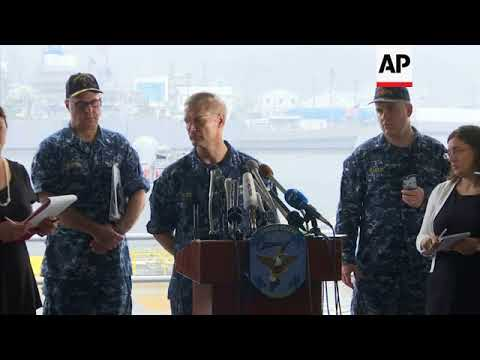 7th Fleet commander relieved of duties after accidents