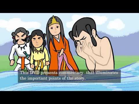 See in the animation!!【Creation Myth of Japan】くにうみ神話アニメーション(英語字幕)