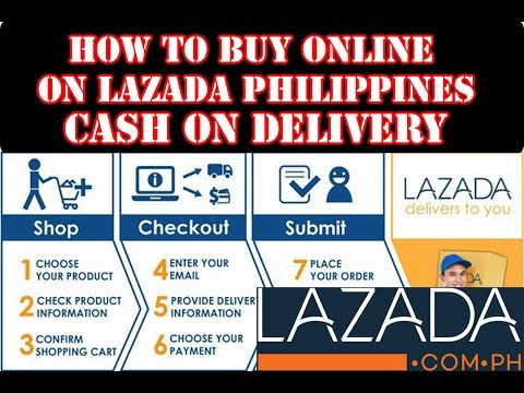 How to buy Online on Lazada (Cash on delivery) in Philippines