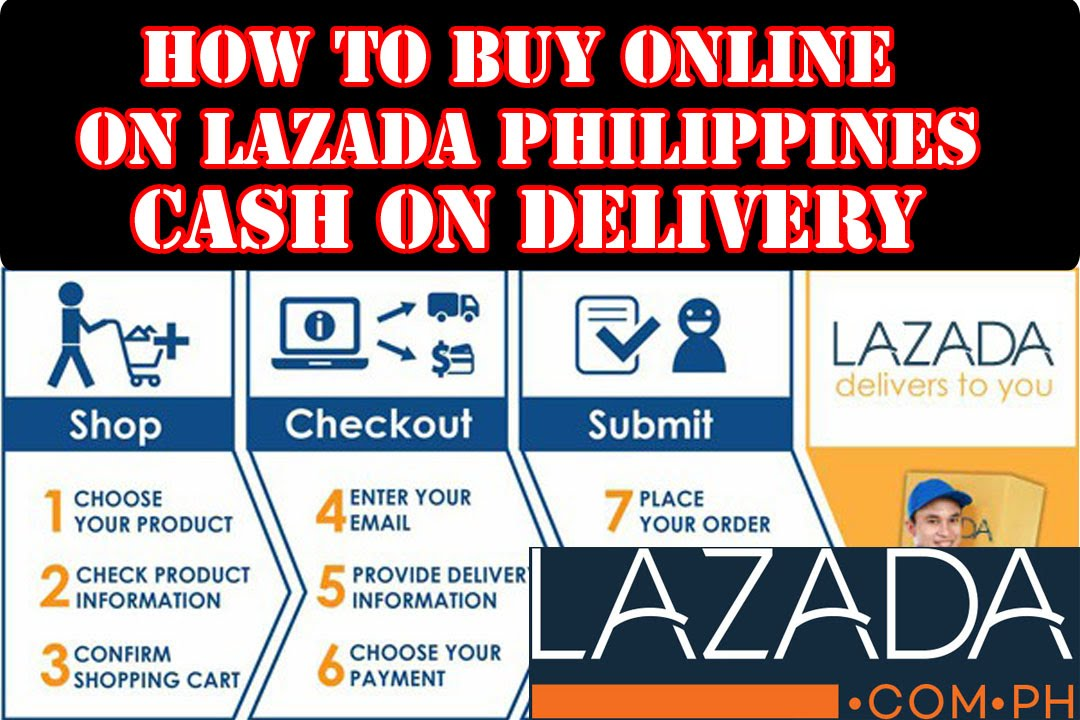 How to buy Online on Lazada Cash on delivery in