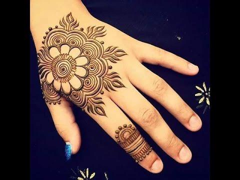 Tutorial Henna Simple Mudah Di Tangan Untuk Pengantin Henna