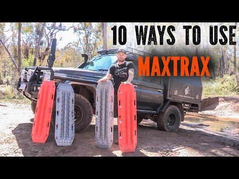 MAXTRAX ,10 ways to use Maxtrax 4x4 tips