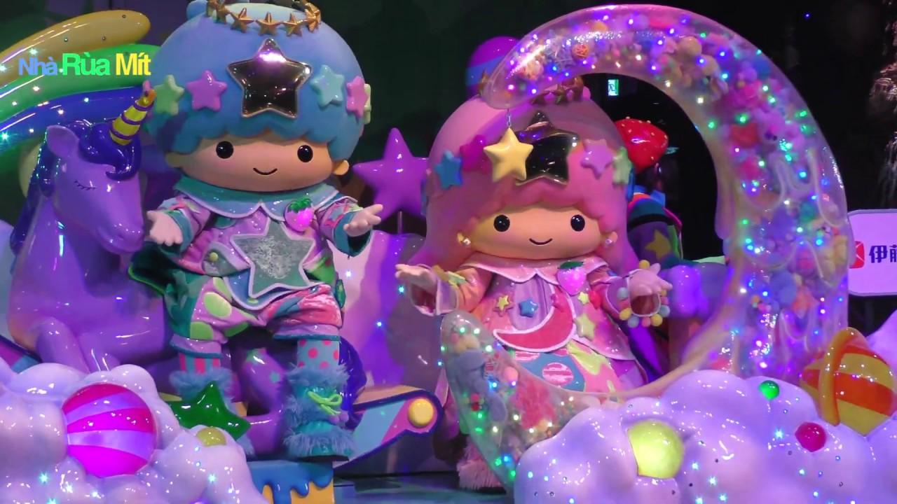 サンリオピューロランド ミラクルギフトパレード Miracle Gift Parade Cuộc diễu hành các nhân vật dễ thương Sanrio Puroland