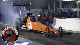 2018 Rocky Mountain Nationals Part 27 - Top Fuel Dragster Saturday Night Exhibition