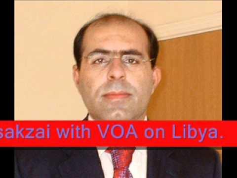 Jan Assakzai with VOA on Libya
